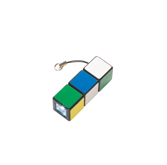 Rubik's Flashlight Keyring