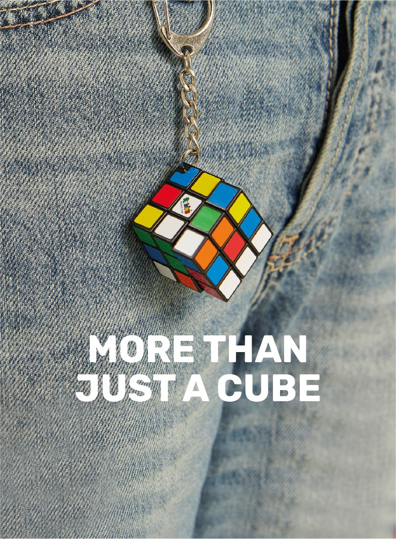 The iconic rubik's cube